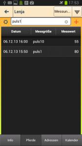 puls1 und puls10 wurden definiert als der Pulswert direkt nach einer Anstrengung und puls10 als Puls nach zehn Minuten Erholung.
